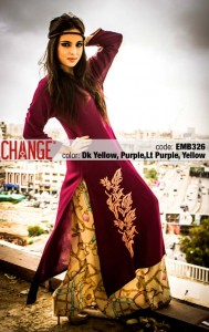 Change Mid-Summer Dresses Collection 2013 For Eid 006