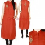 Cranberry Casual Wear Stylish Arrivals 2013 For Women 004