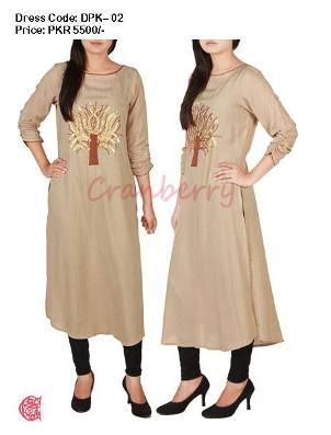 Cranberry Casual Wear Stylish Arrivals 2013 For Women 006