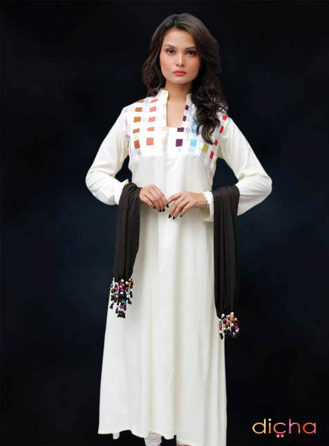 Dicha Ready To Wear Kurties Collection 2013 For Women 001