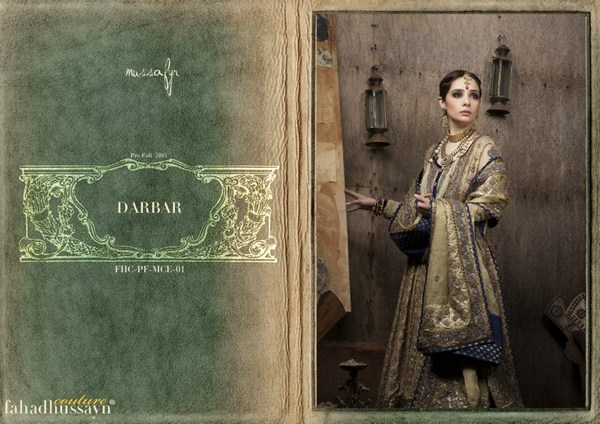 Fahad Hussayn Fall Collection 2013 For Ladies 001