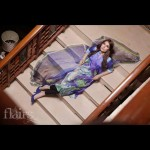 Flairs by Naureen Fayyaz Digital Prints 2013 For Girls 006