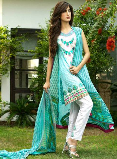 Kalyan Limited Eid Dresses Collection 2013 By Z.S Textile 004