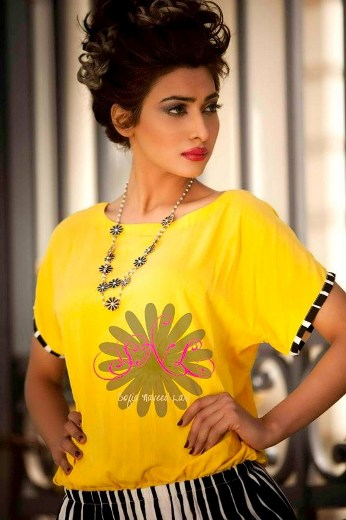 Latest Formal Wear Women Dresses 2013 By Sofia Naveed Lari 005