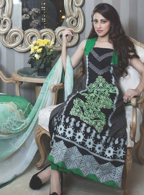 Monsoon Festivana Dresses Vol 2 2013 by Al Zohaib Textile 001