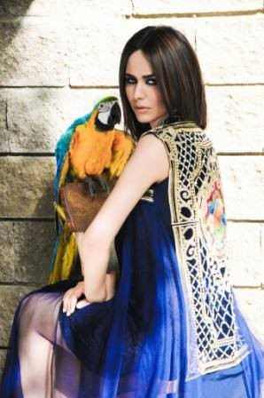 New Semi formal wear Summer Collection 2013 By Tabassum Mughal 007
