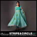Orient textile Party Wear Mid Summer New Collection 2013-2014 (2)
