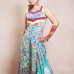 Popular Exclusive Lawn Dresses Collection 2013 002