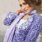 Popular Exclusive Lawn Dresses Collection 2013 005