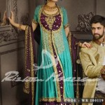 Rizwan Moazzam Lstest Bridal Wear Dresses Collection 2013 005