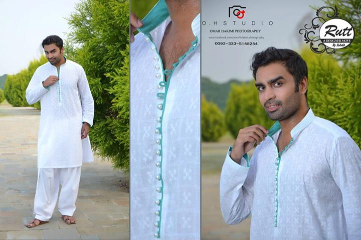 Rutt By Sohaib Latest Eid kurta shalwar Collection 2013 For Men (1)
