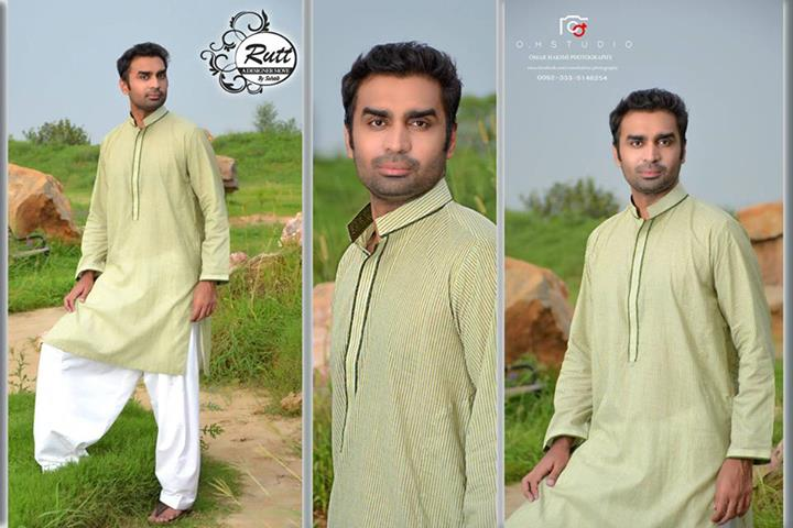 Rutt By Sohaib Latest Eid kurta shalwar Collection 2013 For Men (5)