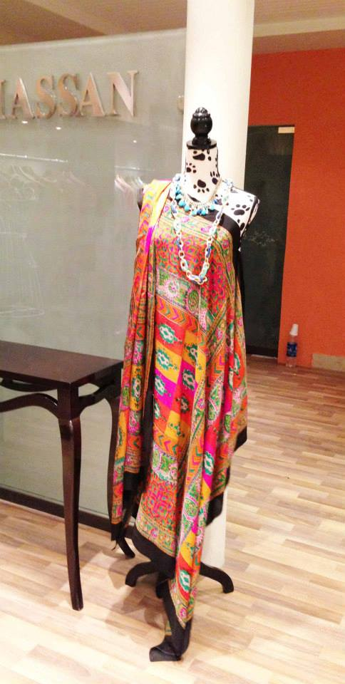 Shirin Hassan Evening Collection 2013 For Ladies 001