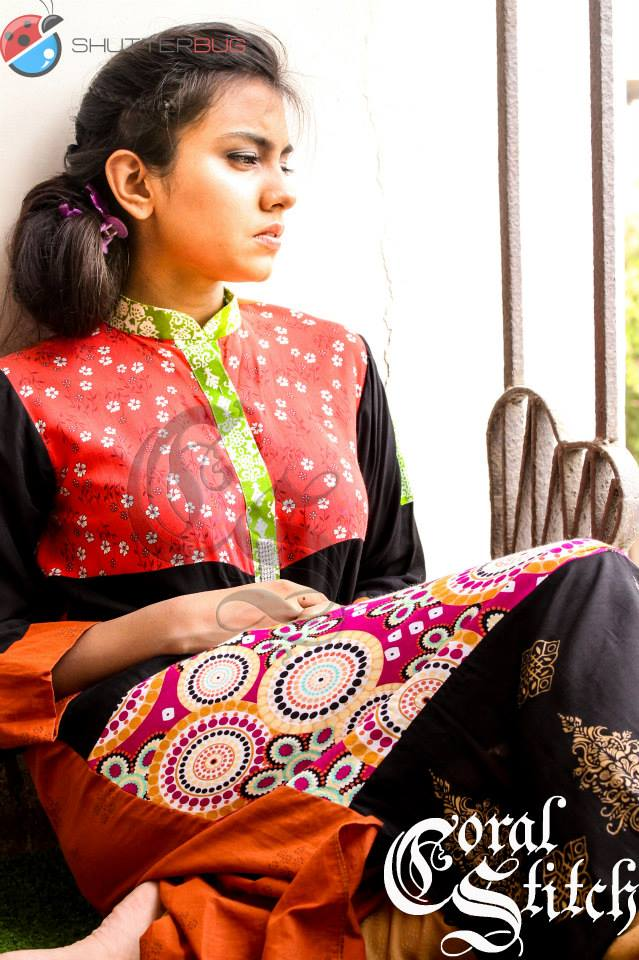 Stylish Causal Wear Summer Collection 2013 By Coral Stitch 008