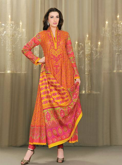 Umar Sayeed Collection 2013 For Women by Al Karam 001