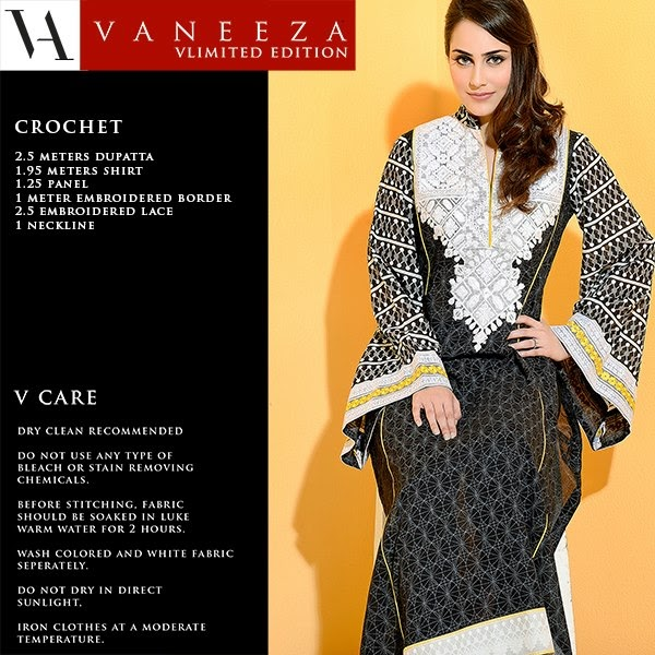 Vaneez Ahmad Party Wear Dress Summer 2013 For Women 001