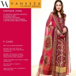 Vaneez Ahmad Party Wear Dress Summer 2013 For Women 006