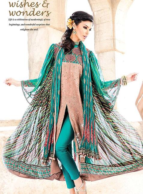 Vogue Silk Eid Special 2013 By Five Star For Women 001