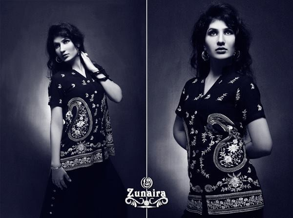 Zunaira Lounge Casual Wear Collection 2013 For Women 009