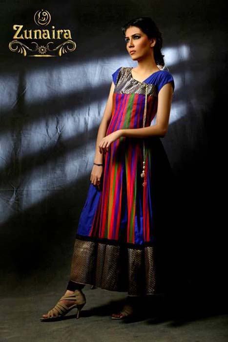Zunaira Lounge Formal Wear Summer Dressses 2013 For Girls 001