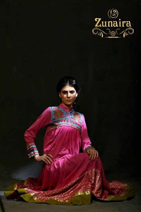 Zunaira Lounge Formal Wear Summer Dressses 2013 For Girls 007