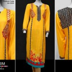 Al Karim Calligraphic Design Dresses 2013 For Fall Season 004
