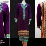 Al Karim Calligraphic Design Dresses 2013 For Fall Season 008