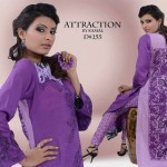 Attraction By Kamal Stylish Midsummer Latest Dresses 2013 003