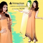 Attraction By Kamal Stylish Midsummer Latest Dresses 2013 004