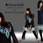 Attraction By Kamal Stylish Midsummer Latest Dresses 2013 006