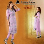 Attraction By Kamal Stylish Midsummer Latest Dresses 2013 008