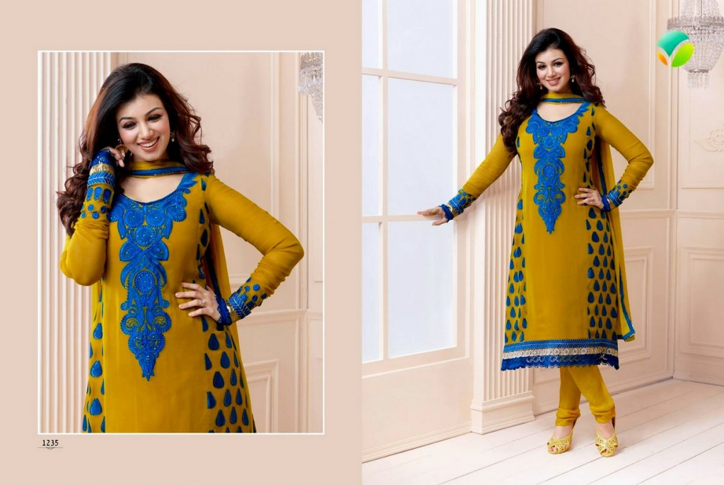 Ayesha Takia Designer Dresses Vol 2 Latest Women Collection 2013 001