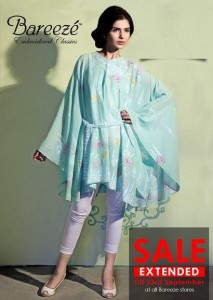 Bareeze Beautiful Party Wear Clothes 2013 002