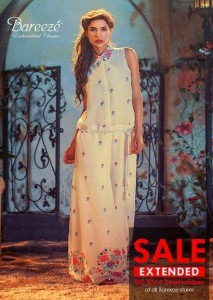 Bareeze Beautiful Party Wear Clothes 2013 004