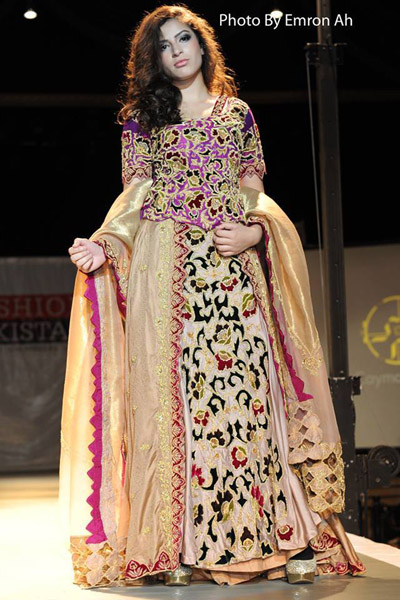 Cayma Emran on the Ramp - New York Fashion Show