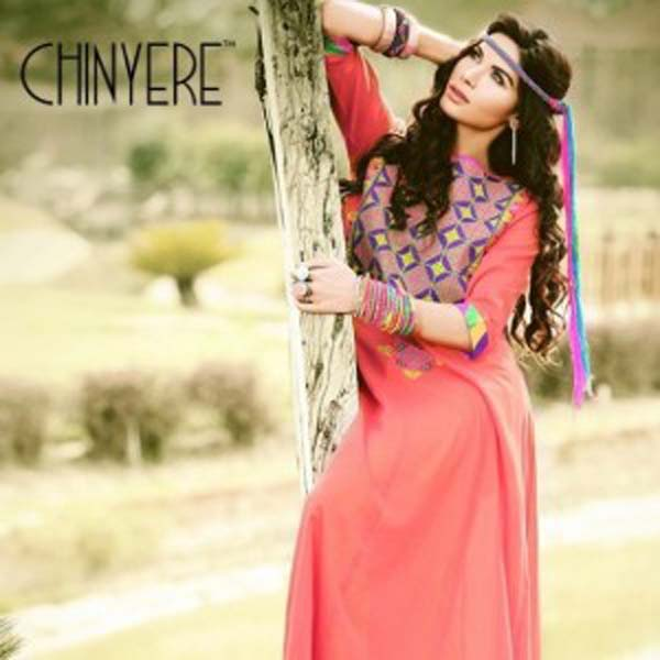Chinyere Stitched Lawn Collection 2013 For Women & Girls 005
