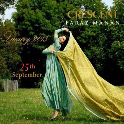 Crescent Faraz Mana Latest Collection 2013 003
