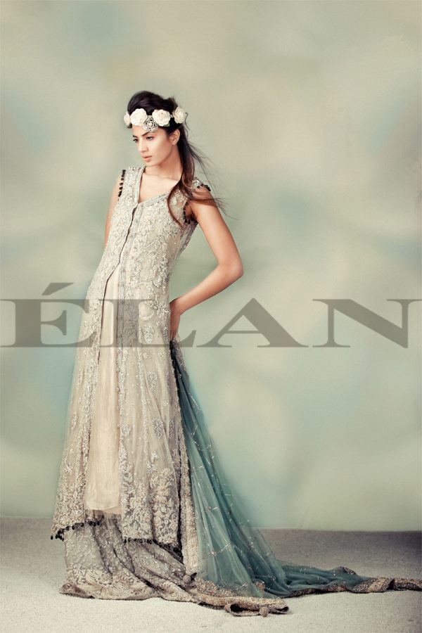Elan Semi-Formal Wear Collection 2013 For Women & Girls 001