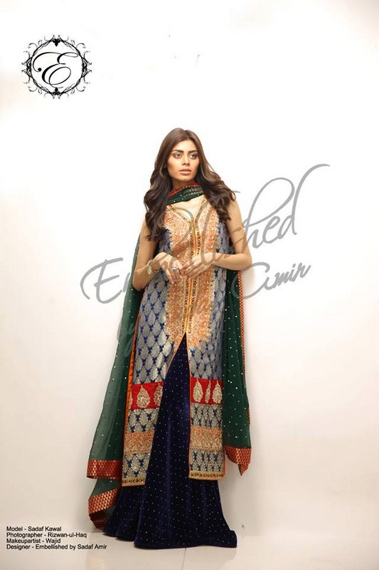 Embellished By Sadaf Amir Formal Dresses 2013 For Women 001