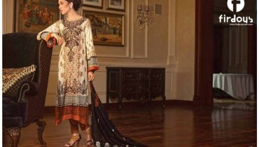 Firdous Fashion Cambric Eid Collection 2013 001