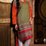 KHAADI STYLISH PRET WEAR INDIAN DRESSES 2013 001