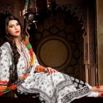 KHAADI STYLISH PRET WEAR INDIAN DRESSES 2013 002