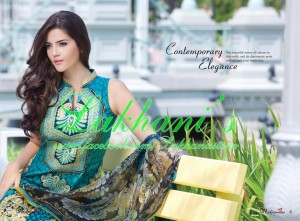 Lakhani Stylish Colorful Dress Collection 2013 for Women 004