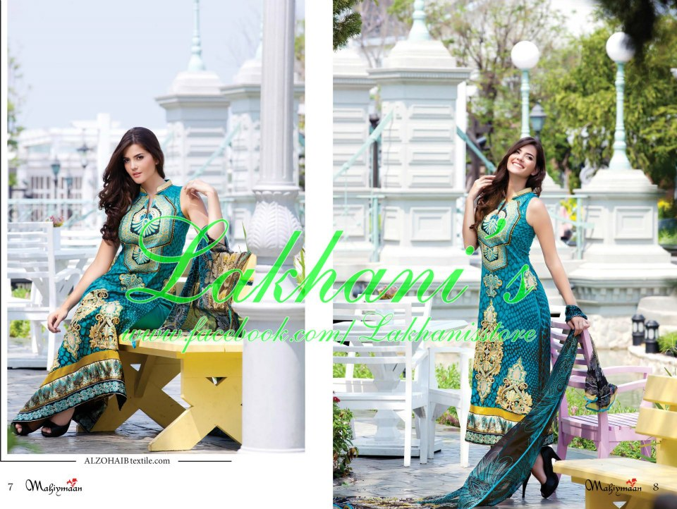 Lakhani Stylish Colorful Dress Collection 2013 for Women 005