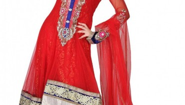 Latest Embroidered Frocks New Collection 2013-2014 For Bridals (1)