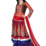 Latest Embroidered Frocks New Collection 2013-2014 For Bridals (2)