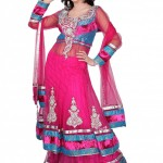 Latest Embroidered Frocks New Collection 2013-2014 For Bridals (9)