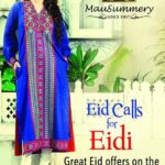 Mausummery Eid ul Adha New Dress Collection 2013 For Women (1)