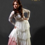 Mid Summer Stylish Party Wear Frock Collection by Zunaira 003