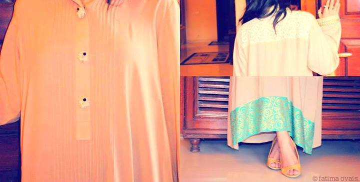 Minahil & Eleaza Mid Summer Dresses 2013 For Girls 006